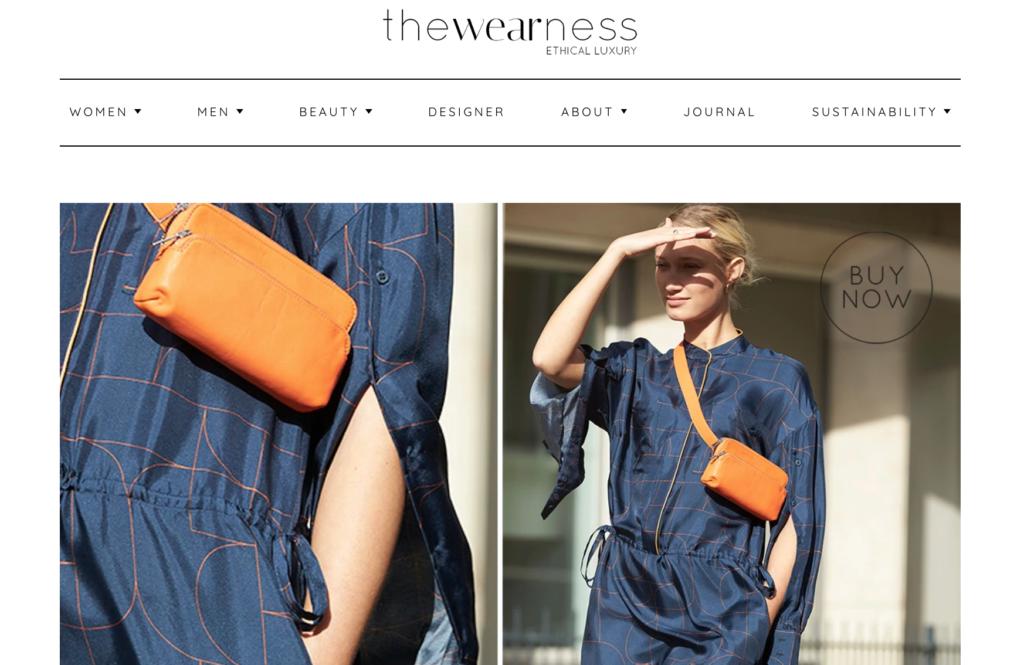 Der Online-Shop The Wearness für ökofaire Luxusmarken