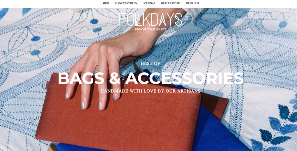 Der kleine Online-Shop Folkdays verkauft Kunsthandwerk aus aller Welt