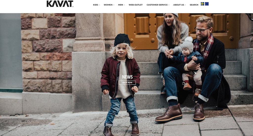 Im Webshop von Kavat gibt es nachhaltige Kinderschuhe