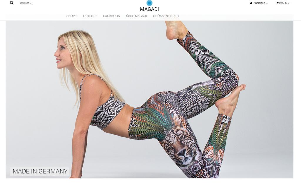 Magadi stellt nachhaltige Yogaklamotten für Frauen her