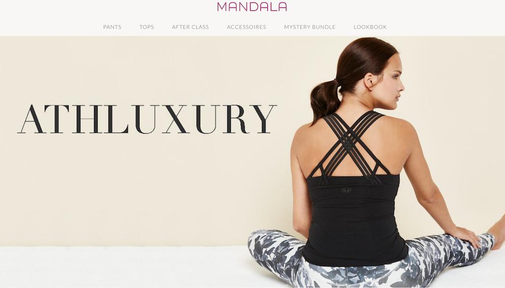 Faire und nachhaltige Yogamoda im Onlineshop von Mandala