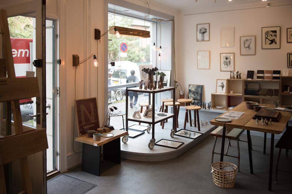 Werde Magazin - Kopenhagen - Knast Recycling Möbel