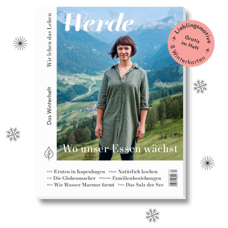 Werde Magazin - Winterheft 2018