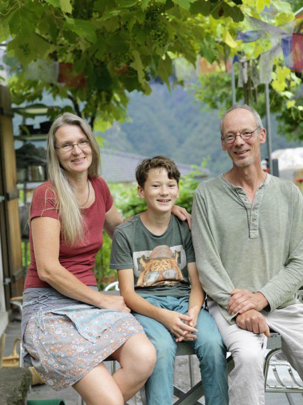 Die Familie Lanfranchi führt ein Leben ohne Konsum