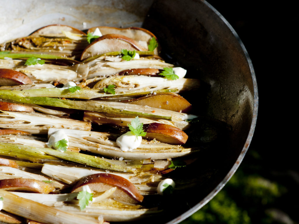 Rezept Puntarella-Salat