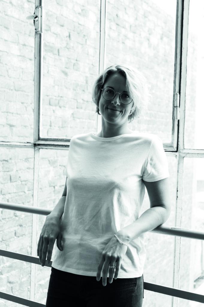 Ein Portrait von Gründerin Sarah Grohé von Erlich Textil