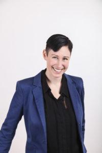 Ein Portrait der Mitgründerin der nachhaltige Modemesse Neonyt Magdalena Schaffrin