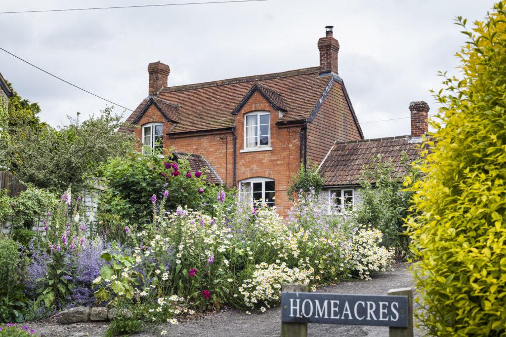 Das Haus von Charles Dowding in England