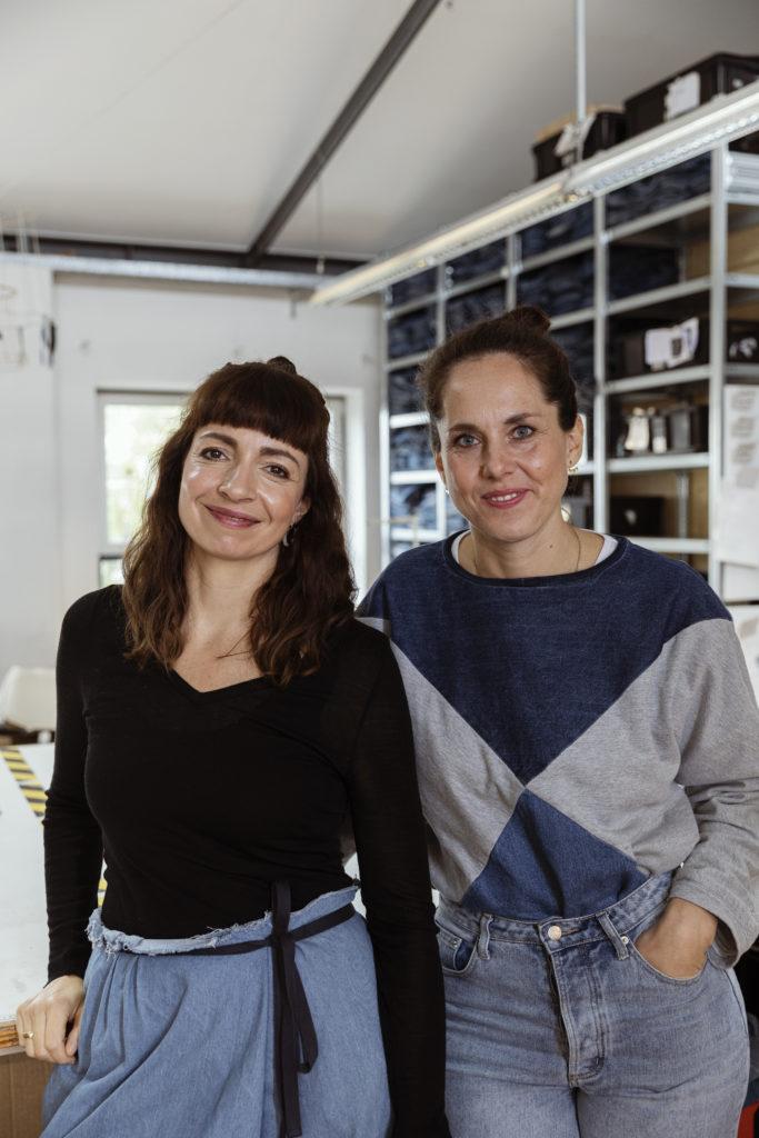 Die beiden Gründerinnen des Labels Bridge & Tunnel