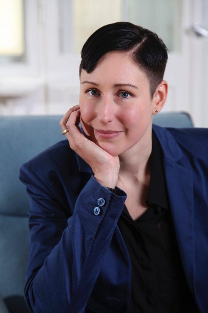 Die Mitgründerin der Neonyt Magdalena Schaffrin