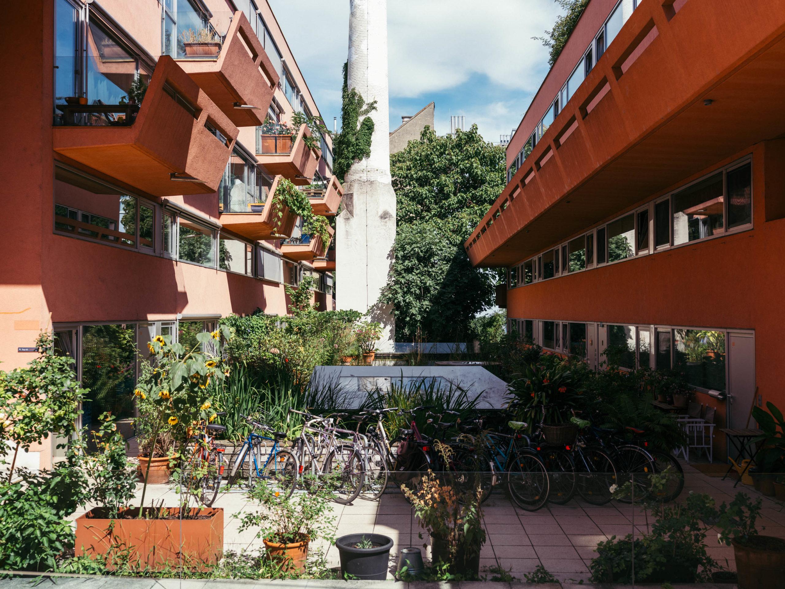 Wohnprojekt Sargfabrik im 14. Wiener Bezirk