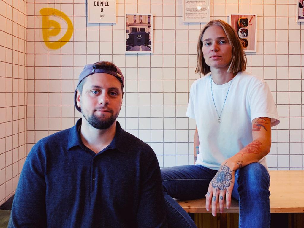 Die beiden Gründer Mauritz und Anna von DingsDums Dumplings