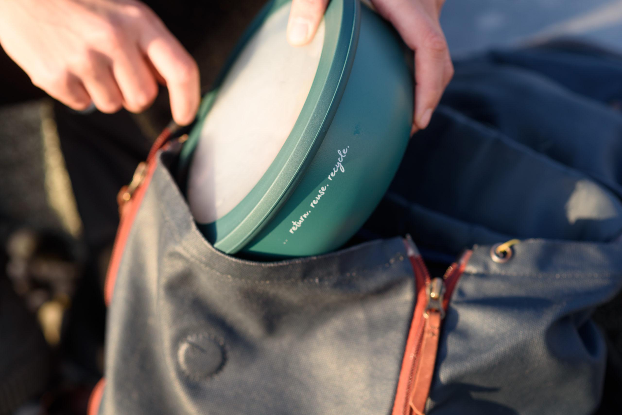 Die Rebowl ist die nachhaltige Mehrwegbox für Essen to go