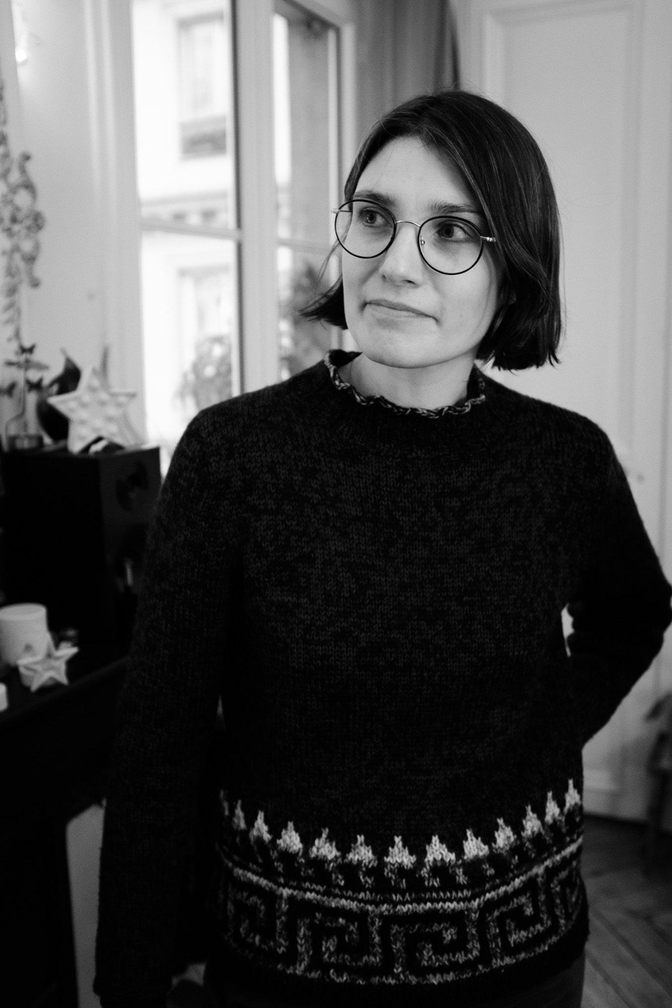 Schwarz-Weis Bild von Élodie Seguis