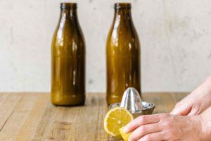 Milch in Flasche Plastikvermeidung