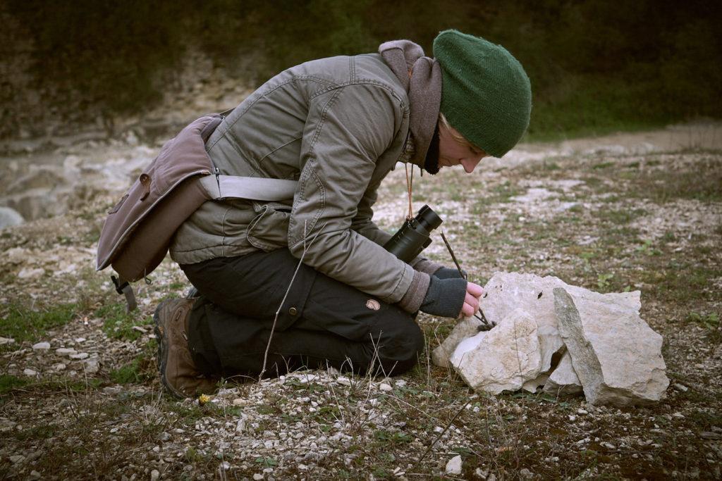 Miriam Schulz erdwege Wildnispädagogik Natur