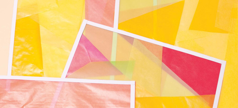 DIY: Farbenfrohe Fensterbilder für zu Hause