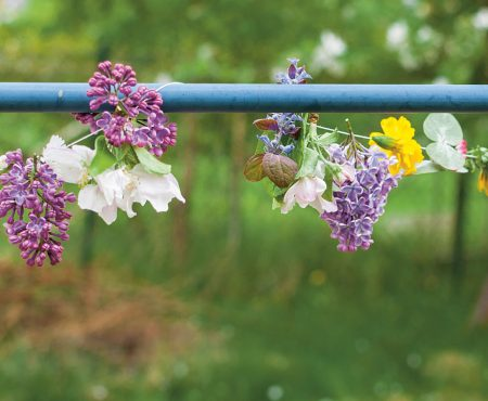 Blütenhaftes Sommerfest
